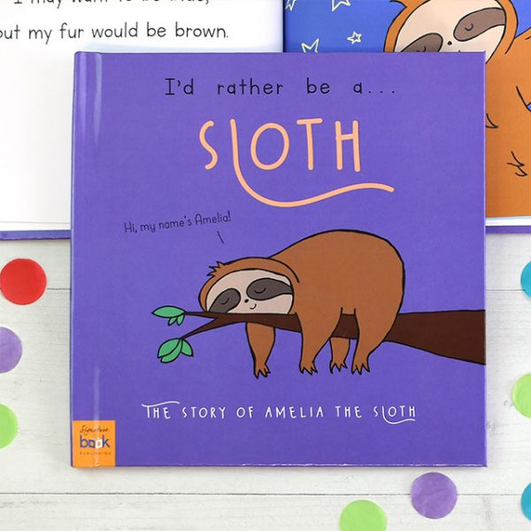 id rather be a sloth book