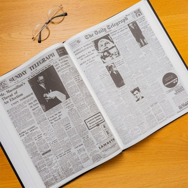 the telegraph the space race newspaper book