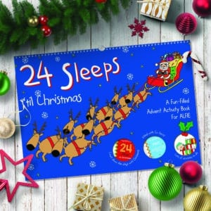 24 Sleeps 'til Christmas Book
