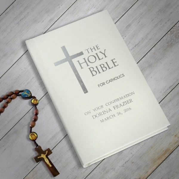 Personalized Catholic Bible
