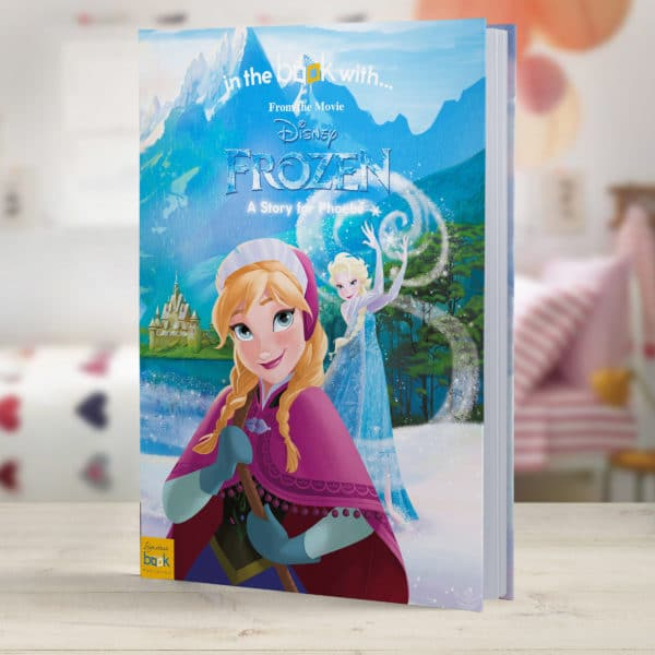 Personalized frozen book
