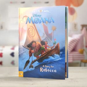 Personalized Moana Book