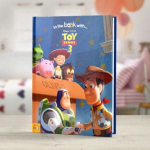 personalized toy story 3 book
