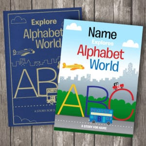 Alphabet World Story Books