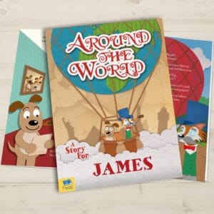 Around the World Story Book