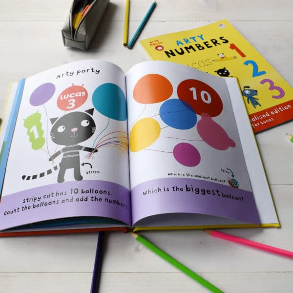 Arty Mouse Activity Book Numbers