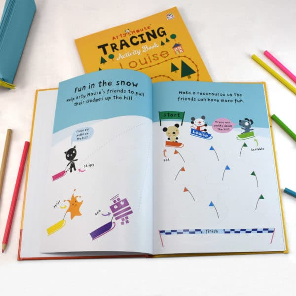 Arty Mouse Activity Book Tracing