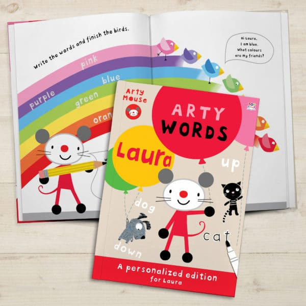 Arty Mouse Activity Book Words