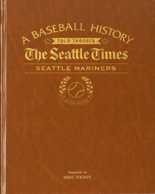 personalized mariners book