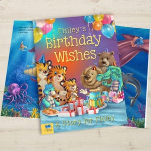 Birthday Wishes story book