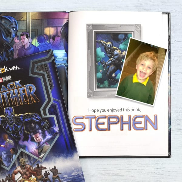 Personalized Black Panther Book