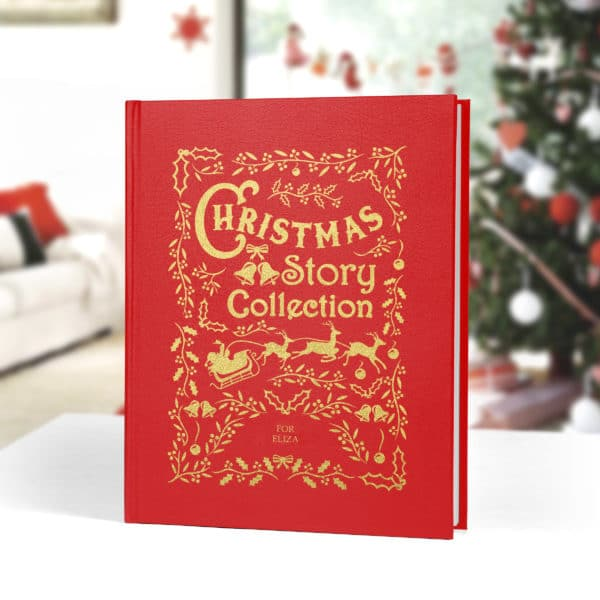 Personalized Christmas story collection