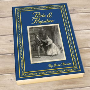 personalized pride and prejudice book