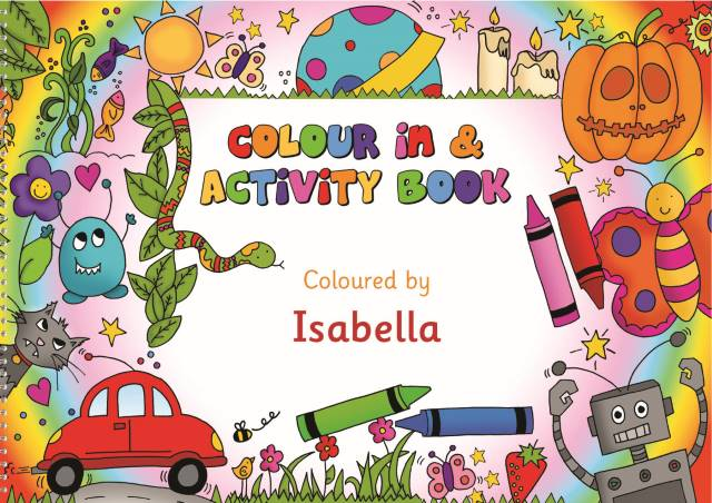 Color-in Activity Book