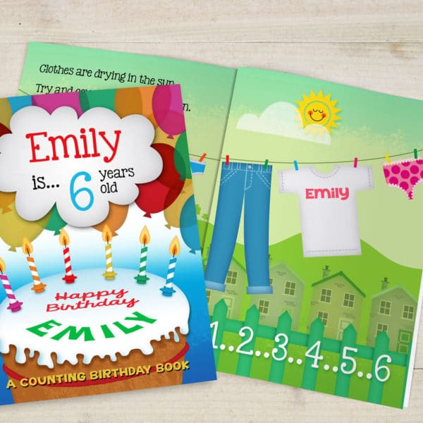 Birthday Counting Book