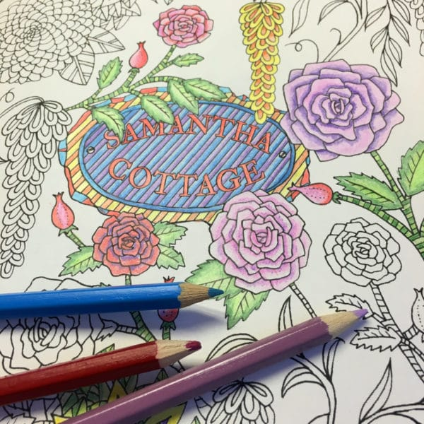 Personalized Coloring book for grown-ups