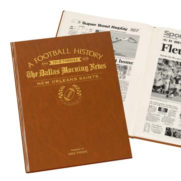 New Orleans Saints Football history book
