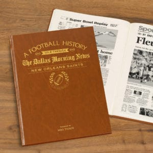 new orleans saints history book