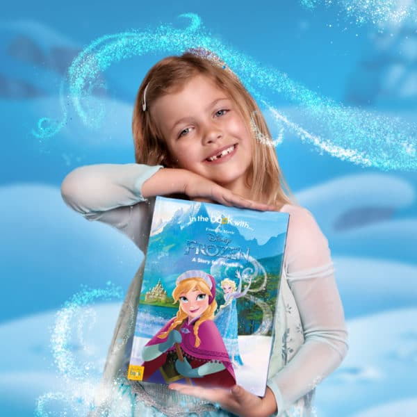 Frozen Personalised Book