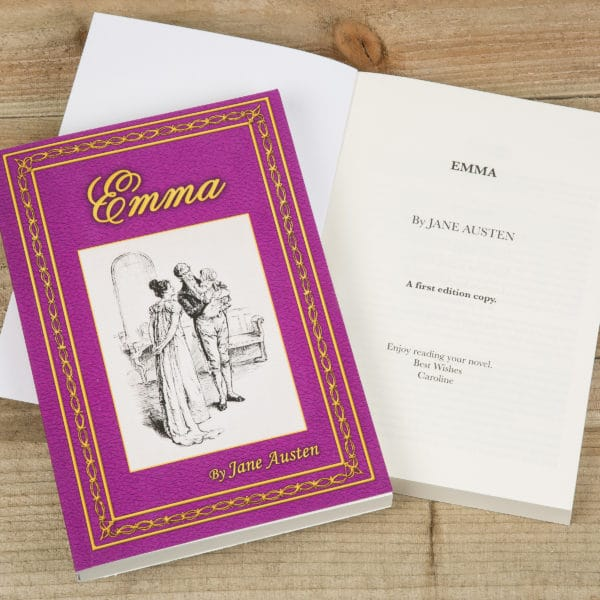 Personalized Emma Novel