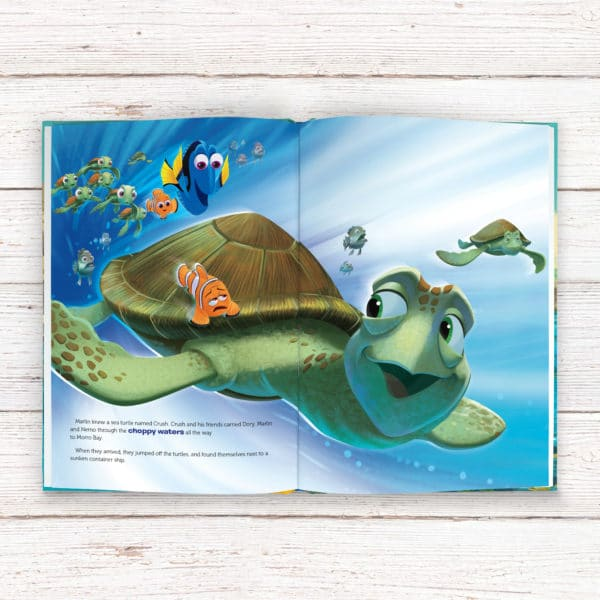 Personalized Disney Finding Dory book