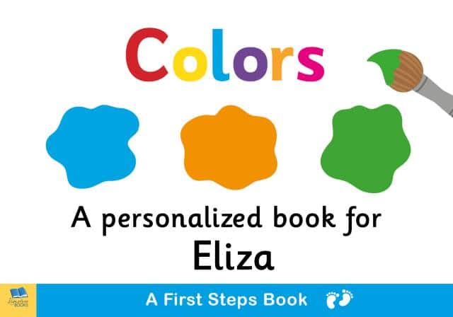 first steps colors book