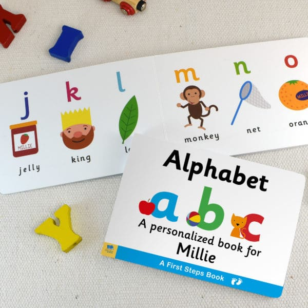 Board book for Toddlers Alphabet