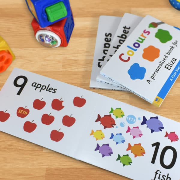 Board book for Toddlers Numbers
