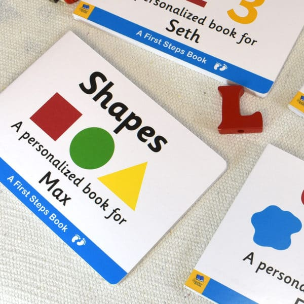 Board book for Toddlers Shapes