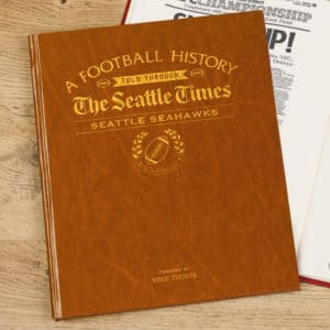 seahawks Football History book