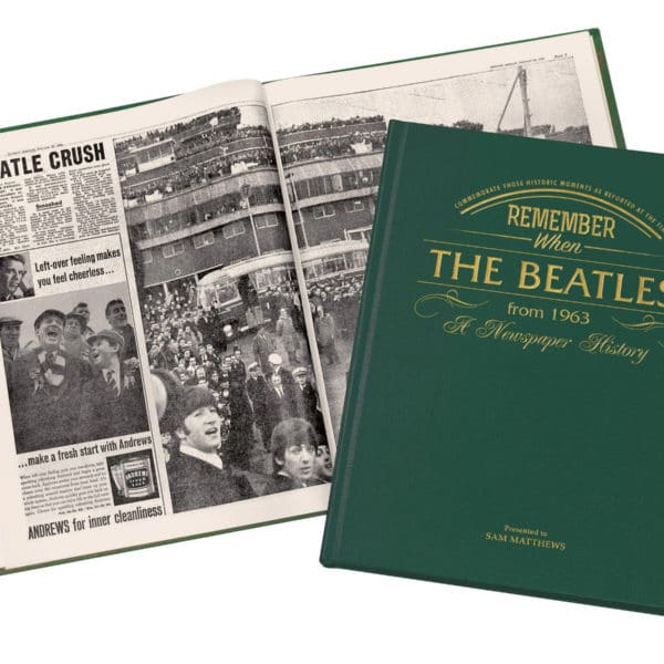History Of the Beatles Book
