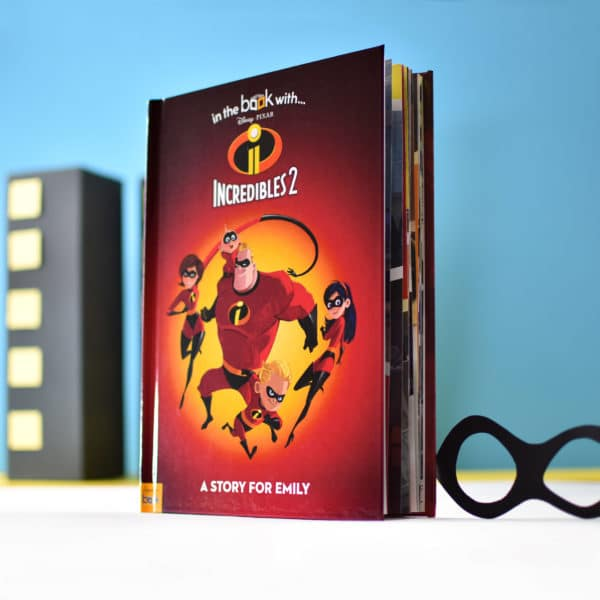Personalized Disney Incredibles 2 book