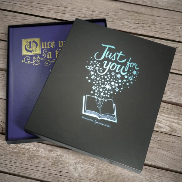 Personalized Fairy Tale Book in a Gift Box
