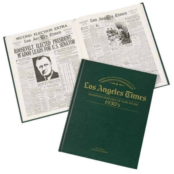 LA Times newspapers of the 1930s