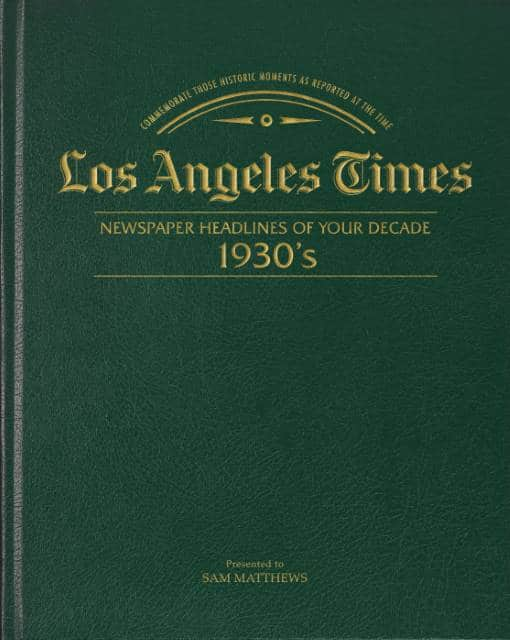 newspapers of the 1930s