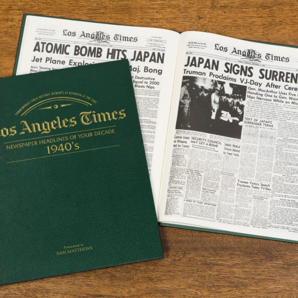 newspapers of the 1940s book