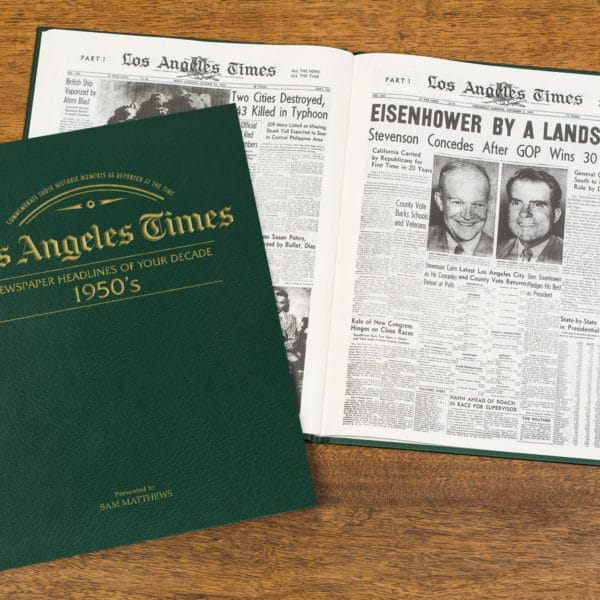 newspapers of the 1950s