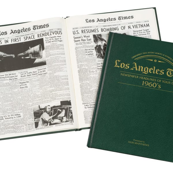 LA Times newspapers of the 1960s