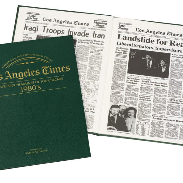 LA Times newspapers of the 1980s