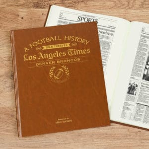 denver broncos history book