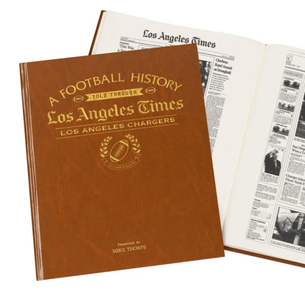 History of Football LA Chargers