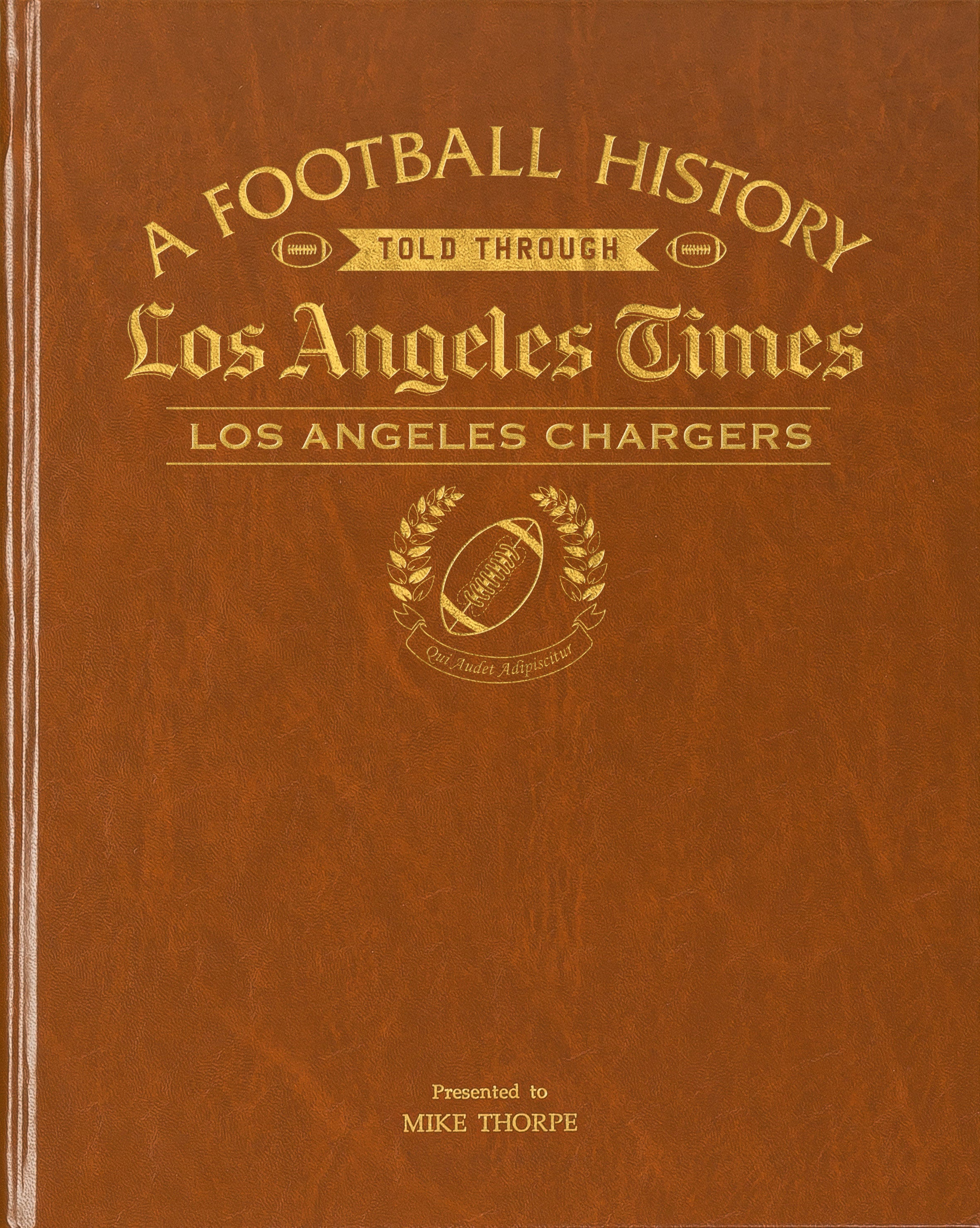 chargers history gift