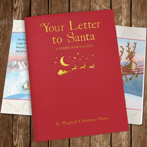Letter to Santa Story Book