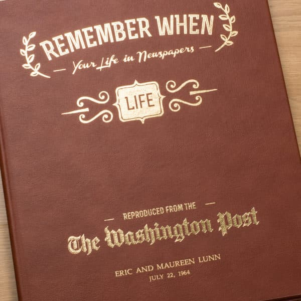 Your Life in Newspapers Book