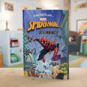personalized spider-man book
