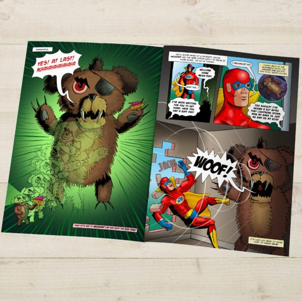 Personalized MegaDad Comic book