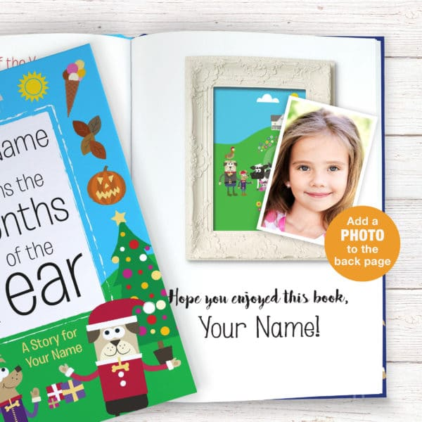 Months of the Year story book