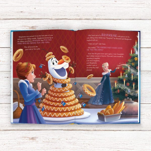 Personalized Olaf's frozen Adventure book