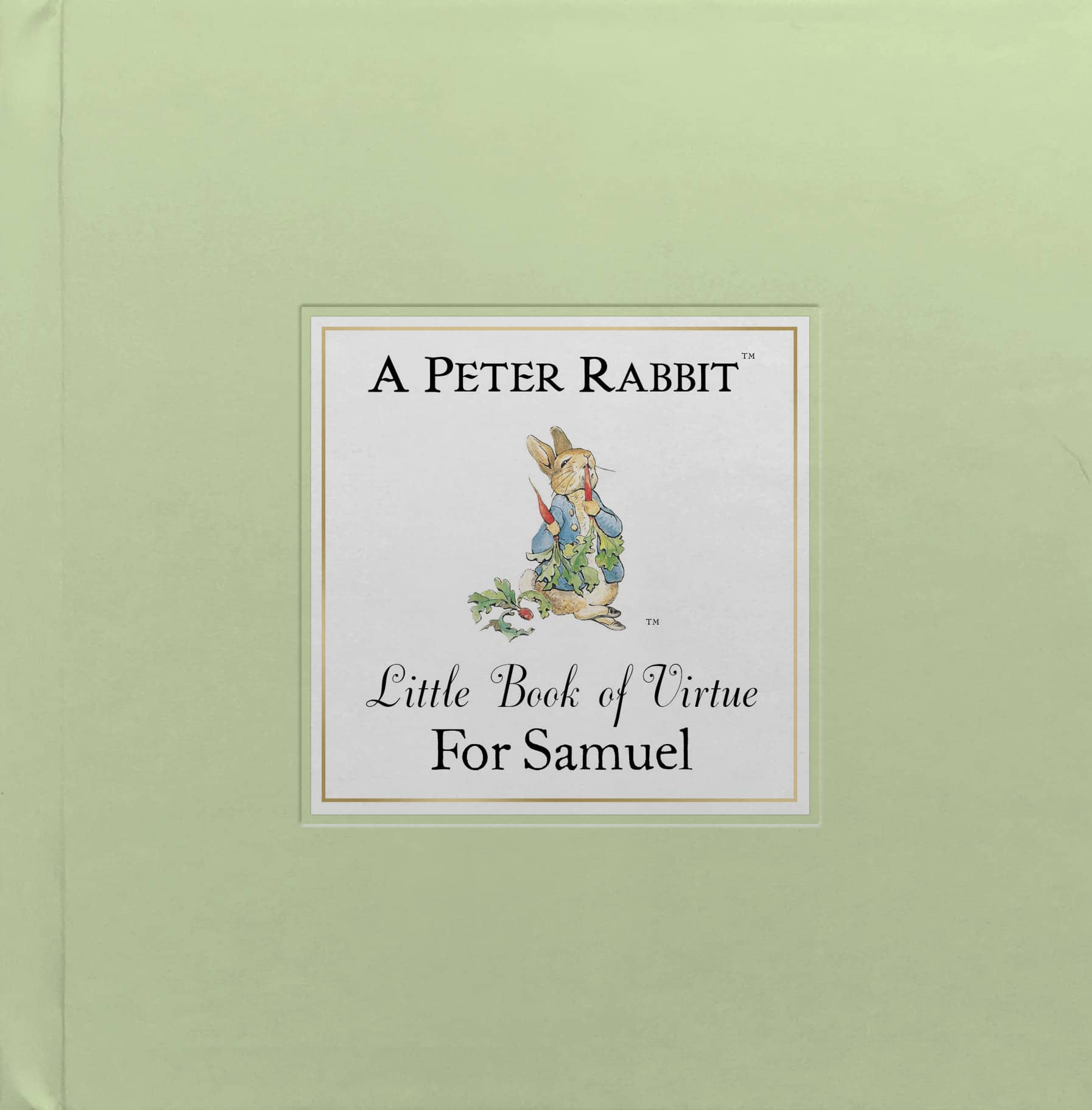 peter rabbit little book of virtue