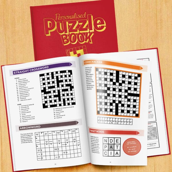 Personalized Puzzle Book